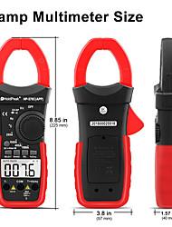 Недорогие -мультиметр с цифровым зажимом, вольтметр-570c-app мультиметр с тестером ампер-ом4000 счетчик мультиметр с автоматическим диапазоном переменного / постоянного напряжения переменного / постоянного тока,