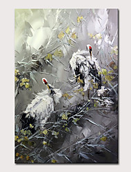 cheap -Mintura Art Large Size Hand Painted Animals Oil Paintings on Canvas Modern Abstract Wall Art Pictures For Home Decoration No Framed