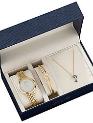 cheap -Women's Quartz Watches Analog Quartz Gift Set Acrylic Diamond Cute Casual Watch Lovely / Two Years / Stainless Steel / Japanese