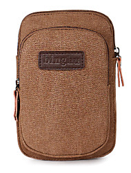 cheap -Belt Pouch / Belt Bag Multifunctional Breathable Moistureproof Dust Proof Outdoor Camping / Hiking Climbing Racing Canvas Army Green Blue Coffee / iPhone X / iPhone XS Max / iPhone XS / iPhone XR