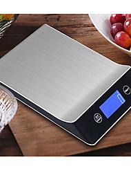 Недорогие -5g-15kg цифровые весы инструмент для приготовления пищи из нержавеющей стали электронные весы ЖК-дисплей кухонные весы