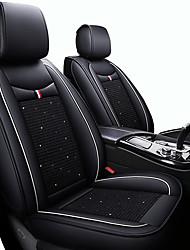 Недорогие -милый мультфильм автомобильные подушки сидений черный / красный / черный / белый / черный / синий искусственная кожа / кожзаменитель бизнес на все годы пять мест