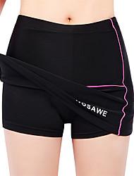 cheap -WOSAWE Women's Cycling Skirt Elastane Silicon Bike Skirt Padded Shorts / Chamois Pants Breathable 3D Pad Anatomic Design Sports Red black Mountain Bike MTB Road Bike Cycling Clothing Apparel Advanced