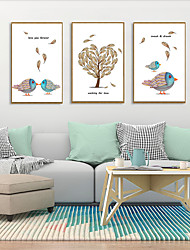 cheap -Framed Art Print Framed Set - Cartoon PS Illustration Wall Art