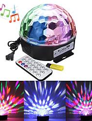 cheap -1 set LED Stage Light MP3 Magic Ball Music Light Sound Control Light Background Light DJ Bar Ballroom Decoration Light