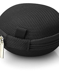 cheap -1 pc Colorful Portable Mini Zipper Round Hard Storage Case Bag for Earphone SD TF Cards Beautiful Gift Charms Suppion