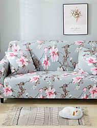 cheap -Floral Durable Soft High Stretch Slipcovers Sofa Cover Washable Spandex Couch Covers