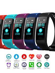 cheap -Men's Digital Watch Digital Outdoor Water Resistant / Waterproof Digital Black Red Blue / One Year / Rubber / Calendar / date / day