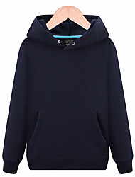 cheap -Women's Hiking Sweatshirt Outdoor Windproof Quick Dry Hoodie Cotton Camping / Hiking / Caving Winter Sports Black / Red / Grey / Dark Navy