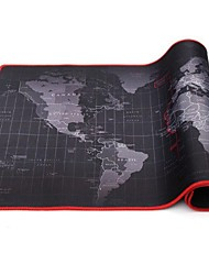 cheap -30*60*2cm Extra Large Mouse Pad Old World Map Gaming Mousepad Anti-slip Natural Rubber Gaming Mouse Mat with Locking Edge