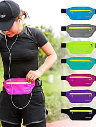 cheap -Daofeng Hiking Waist Bag Breathable Rain Waterproof Fast Dry Outdoor Hiking Cycling / Bike Running Polyester Blue Pink Grey