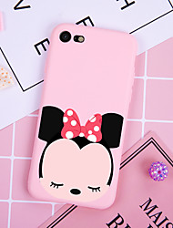 cheap -Case For iPhone XS Max XR XS X Back Case Soft Cover TPU Fashion simple style shy little monkey Soft TPU for iPhone 8 Plus 7 Plus 7 6 Plus 6 8