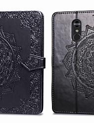 cheap -Phone Case For LG LG Stylo 4 Card Holder Flip Full Body Cases Hard leather for LG Stylo 4