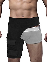 cheap -Thigh Support for Running Gym Workout Washable Safety Gear Protective Gear NEOPRENE 1 Piece Sports Black