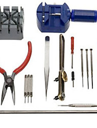 cheap -Watch Repair Tool Kit Band Pin Strap Link Remover Back Opener 16pc