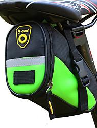 Недорогие -B-SOUL 1 L Сумка на бока багажника велосипеда Водонепроницаемость Компактность Прочный Велосумка/бардачок Кожа Терилен Велосумка/бардачок Велосумка Велосипедный спорт