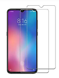 cheap -Screen Protector for Xiaomi Xiaomi Mi 9 Tempered Glass 2 pcs Front Screen Protector High Definition (HD) / 9H Hardness / 2.5D Curved edge
