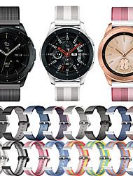 abordables -Bracelet de Montre  pour Samsung Galaxy Watch 42 / Samsung Galaxy Active Samsung Galaxy Bracelet Sport Tissu / Nylon Sangle de Poignet