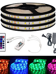 cheap -BRELONG Smart WIFI SMD 2835 9mm Light With RGB 24Keys 15M 900LED IP65 Not Waterproof DC12V With 5A US Power