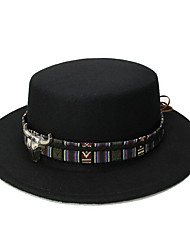 cheap -Wool / Cotton / Polyester Headwear with Lace-up / Metal 1 Piece Casual / Daily Wear Headpiece