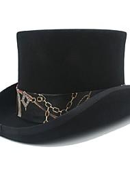 cheap -Wool / Cotton / Knitwear / Wool Felt Headwear with Appliques 1 Piece Halloween / Daily Wear Headpiece