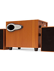 cheap -3D Surround Wood Subwoofer Stereo Heavy Bass PC Computer USB Wooden Speaker Speakers for Laptop Phone