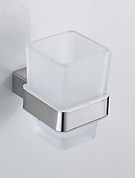 cheap -Toothbrush Holder Creative Stainless Steel 1pc Wall Mounted