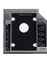 cheap -12.7MM SATA Aluminum Hard Drive Caddy for Notebook