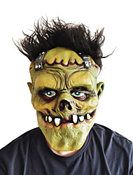 cheap -Mask Halloween Props Halloween Mask Inspired by Scary Movie Green Horror Halloween Halloween Adults' Men's Women's