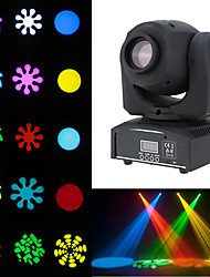 cheap -1 set LED Stage Light DMX512 Sound Control 6 Bead Eyes Moving Head Lights Dyeing Lights DJ Bar Ballroom Decoration Lights