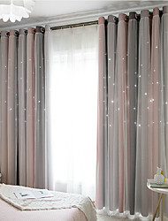 cheap -Contemporary Blackout One Panel Curtain & Sheer Bedroom   Curtains
