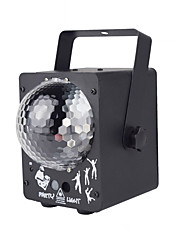 cheap -1 set LED Stage Light Laser Magic Ball Two in One Voice Control Laser Remote Control Light KTV Bar Home Decorative Light