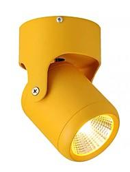 cheap -QIHengZhaoMing 8 cm Spot Light Plastic Painted Finishes Retro 110-120V / 220-240V