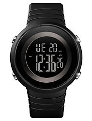 Недорогие -SKMEI Муж. электронные часы Цифровой Pезина Черный / Зеленый / Роуз 50 m Защита от влаги Календарь Хронометр Цифровой На открытом воздухе Мода - Розовый Зеленый Черный / Белый
