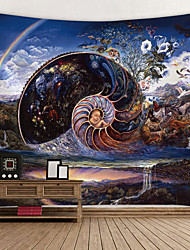 cheap -Garden Theme / Classic Theme Wall Decor 100% Polyester Modern Wall Art, Wall Tapestries Decoration