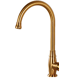 cheap -Kitchen faucet - Single Handle One Hole Multi-Ply Tall / ­High Arc Other Contemporary Kitchen Taps