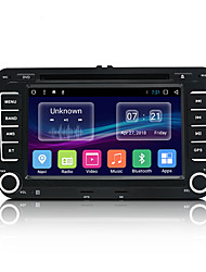 cheap -JUNSUN 2531.A 7 inch 2 DIN Android 7.1 In-Dash Car DVD Player / Car MP5 Player / Car MP4 Player GPS / MP3 / Built-in Bluetooth for Volkswagen / Skoda / Seat Mini USB Support MP3 / WMA GIF / BMP / PNG