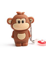 Недорогие -32 ГБ USB флэш-накопители диск USB 2,0 ПВХ обезьяна беспроводного хранения