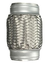 Недорогие -1 шт. 64 mm Автомобильные выхлопные системы выпрямленный Нержавеющая сталь Глушители выхлопа Назначение Универсальный Все модели Все года