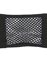 cheap -Car trunk magic double-layer elastic net pocket seat back 40*25cm storage storage net