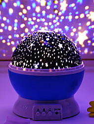 cheap -Rotatable Starry Projector Nebula Projector Night Light Tiktok Star Light LED Intelligent Projection Lamp for Room USB Charger or 4*AAA Battery Romantic Gift