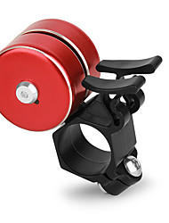 cheap -Bike Bell Bike Horn Waterproof Lightweight Alarm Sound Loud Long Crisp Clear Sound for Mountain Bike MTB Folding Bike Recreational Cycling Cycling Bicycle Aluminum Alloy ABS Black Silver Red