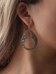 cheap -Women's Earrings Earrings Jewelry Black / Gold / Silver For Daily 1 Pair