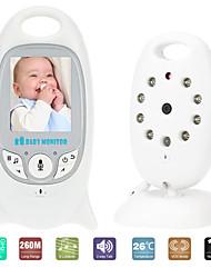 Недорогие -видео радионяня vb601 беспроводная радионяня няня музыкальный домофон ночного видения портативная детская камера рация няня