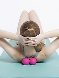 Недорогие -Массажный мяч TPE Non Toxic Прочный Массаж Улучшение гибкости Йога Разрабатывать Бодибилдинг Для Мужчины Женский