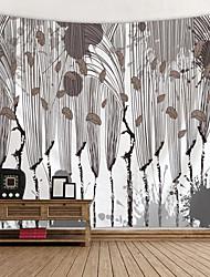 Недорогие -Цветы / Классика Декор стены 100% полиэстер Modern Предметы искусства, Стена Гобелены Украшение
