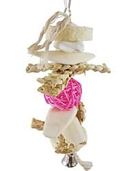 cheap -Bird Perches & Ladders Pet Friendly Focus Toy Felt / Fabric Toys Bird Wood 10 cm