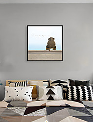 cheap -Framed Art Print Framed Set - Animals Pop Art PS Photo Wall Art