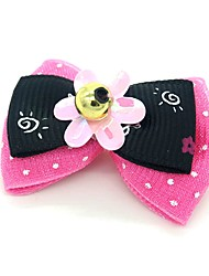 cheap -Dogs Ornaments Hair Accessories For Dog / Cat Bowknot Decoration Geometric Metalic Polyester Rubber