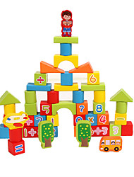 cheap -Building Blocks 53 pcs compatible Legoing Geometric Pattern All Toy Gift